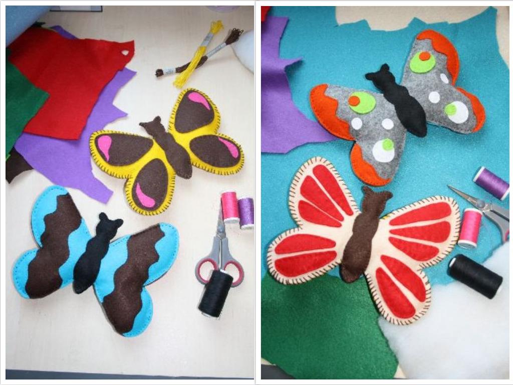 AG - Schmetterlinge nähen