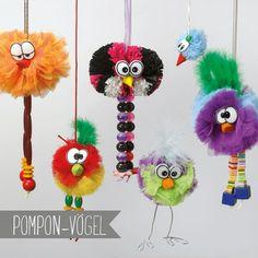 AG - Pompon-Vögel