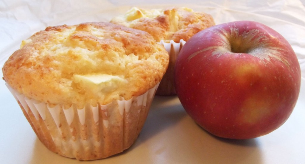AG - Apfel-Muffins backen