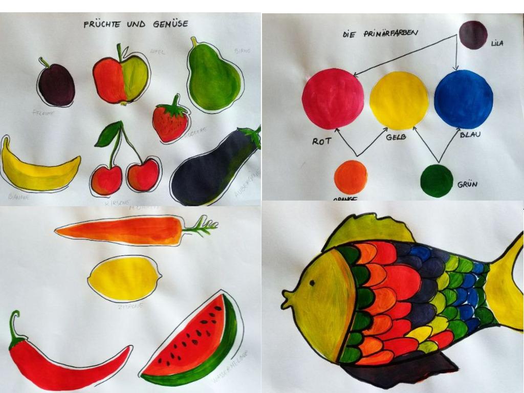AG - Malen mit Acrylfarben